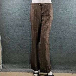 Vintage Rampage Lo Rise Pants Cuffs, Flared Bottom